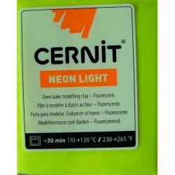 Cernit 56g - neonově žlutá