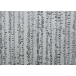 Pergamenový papír 115g - noty