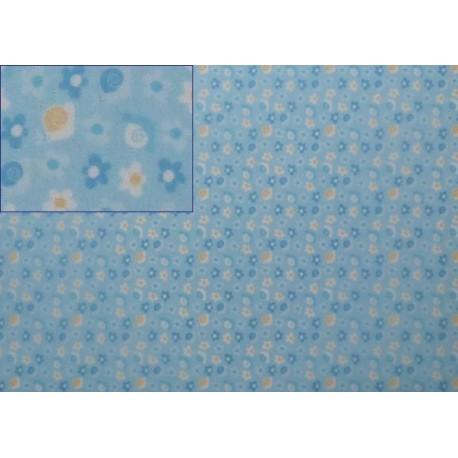Pergamenový papír 115g Baby šneci modrý