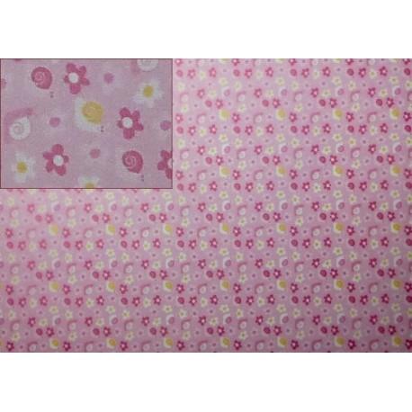 Pergamenový papír 115g Baby šneci růžový
