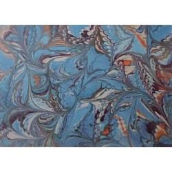 Pergamenový papír 115g ART modrý