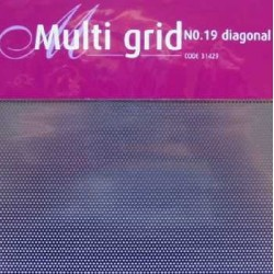 Mřížka multi grid 19 diagonal