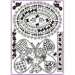 Mřížka Multi grid 33, Motýlí polibky