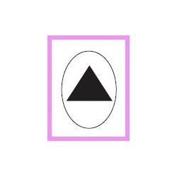Embossing.nástroj trojúhelník