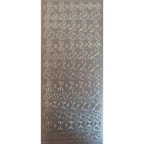 Kontury Čtyřlístky stříbrné