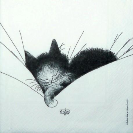 Kotě spící 33x33
