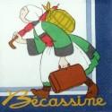 Služebná Bécassine na cestách 33x33