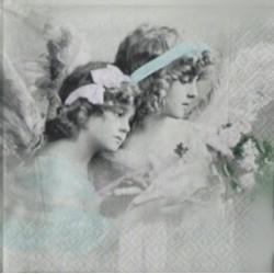 Andělé a růže 33x33
