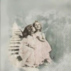 Andělé na schodech 33x33