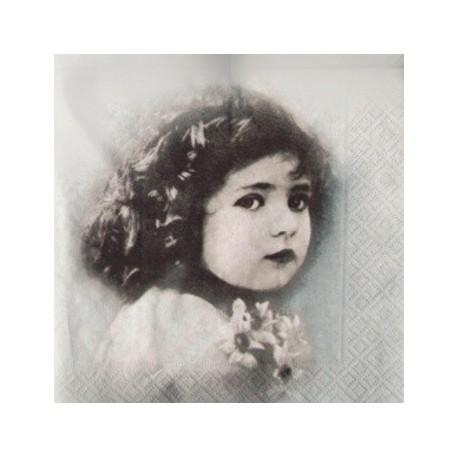 Děvčátko 33x33