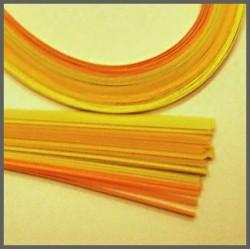 Set barevných proužků - žlutý