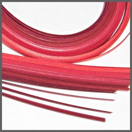 Set barevných proužků - červený