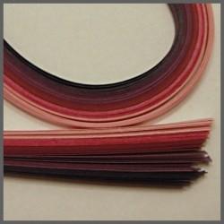 Set barevných proužků - růžovofialový