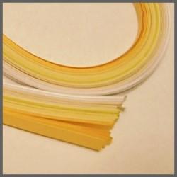 Set barevných proužků - bílobéžový