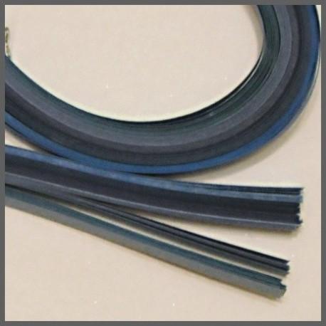 Set barevných proužků - modrý