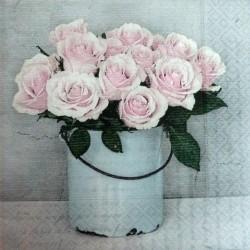 Růže ve váze 33x33