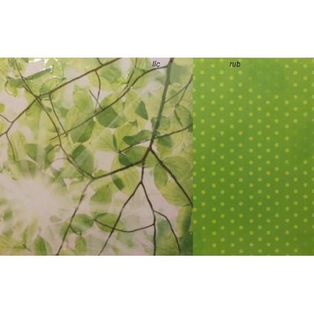 Listy 30,5x30,5 designový papír