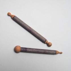 Dřevěné tyčinky na vytlačování - 2 kusy