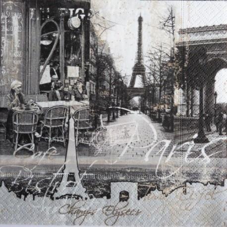 Koláž Paris 33x33