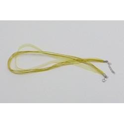 Stužka se zapínáním 45cm žlutá