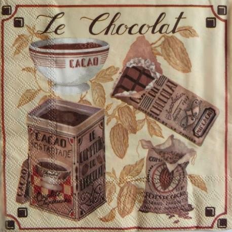 Le Chocolat 33x33