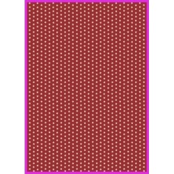 Sada 5ks - pergamen 150g Hvězdičky červená
