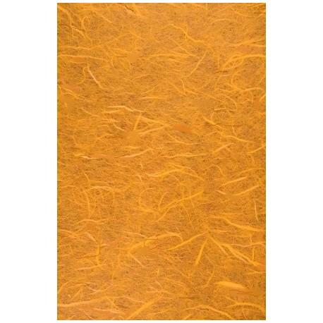 Morušový papír A4 - tmavě žlutý