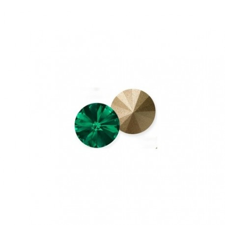 SWAROVSKI RIVOLI 6mm Emerald