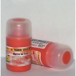 Barva na kůži 20g - oranžová