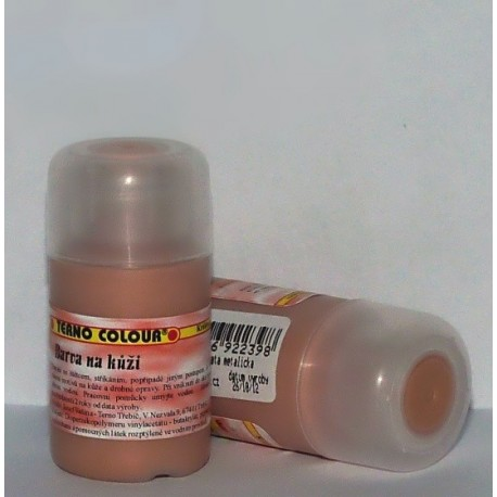 Barva na kůži 20g - zlatá metalická