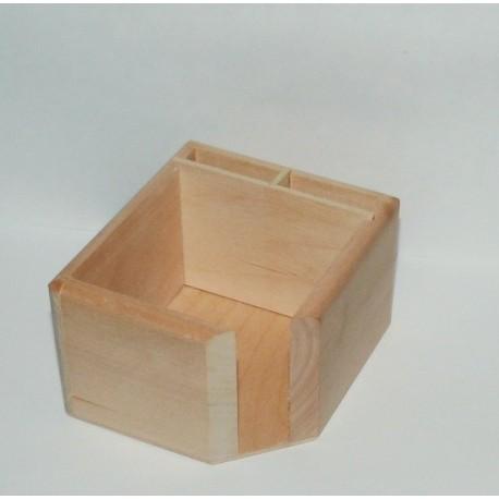 Box na poznámkové lístečky a tužky
