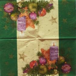 Vánoční dekorace 33x33