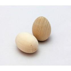 Dřevěné vajíčko menší