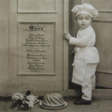 Malý kuchař 33x33