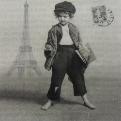 Kluk v Paříži 33x33