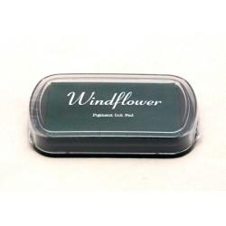 Windflower polštářek - tmavě zelený