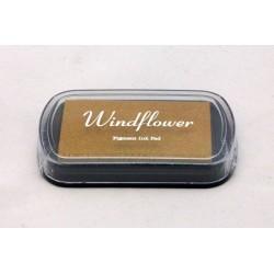 Windflower polštářek - zlatý