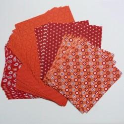 Origami papírky 15x15 Basic červený