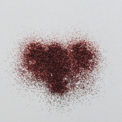 Dekorační glittery jemné - hnědé