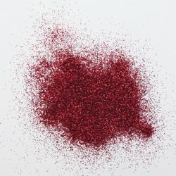 Dekorační glittery jemné - tmavě červené