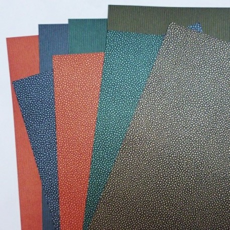 Kapky a drážky - sada kartonů 10ks, 230g