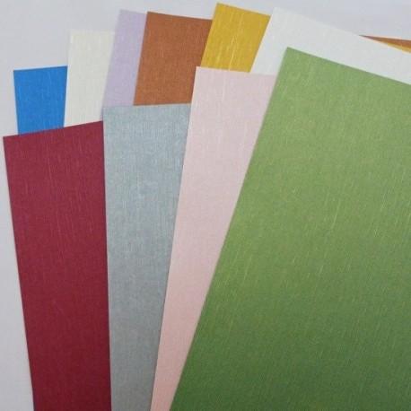 Plátno metalic - sada kartonů 10ks, 230g