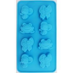 Silikonová forma - Žabka, motýl, beruška