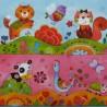 Veselá zvířátka malovaná 33x33