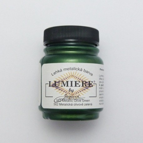 Lumiere 67ml 562 Metalická olivově zelená