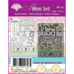 Pergamano Mini set č.10 - Letní zahrádka