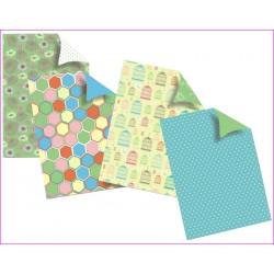 Sada designových papírů - Letní zahrádka
