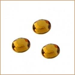 Swarovski štrasové kamínky 3mm - topaz, 10ks