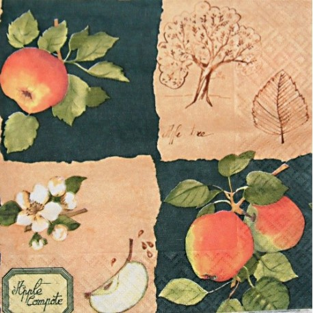 Jablíčka 3. 33x33