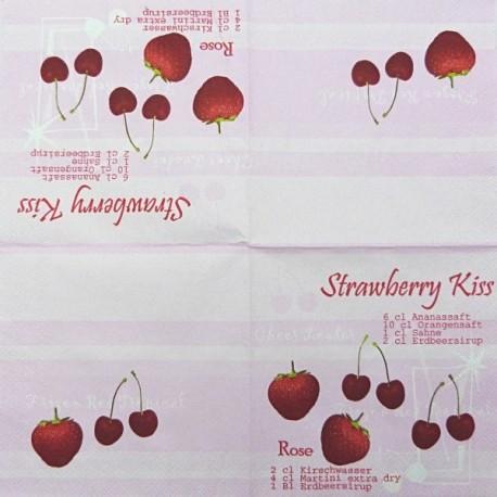 Strawberry Kiss 25x25